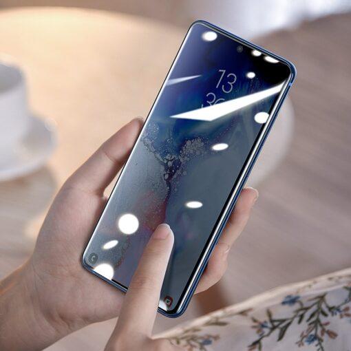 Samsung S20 Ultra kaitseklaas 3D UV lambi ja liimiga 2tk pakis SGSAS20U UV02 13