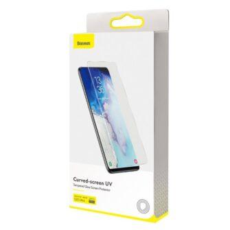 Samsung S20 Ultra kaitseklaas 3D UV lambi ja liimiga 2tk pakis SGSAS20U UV02 19
