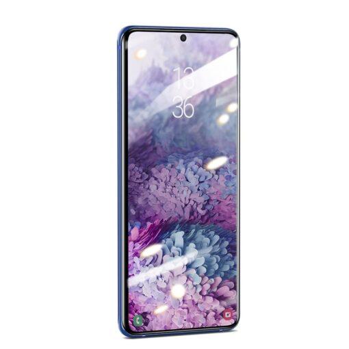 Samsung S20 Ultra kaitseklaas 3D UV lambi ja liimiga 2tk pakis SGSAS20U UV02 4