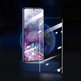 Samsung S20 Ultra kaitseklaas 3D UV lambi ja liimiga 2tk pakis SGSAS20U UV02 6