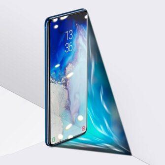 Samsung S20 Ultra kaitseklaas 3D UV lambi ja liimiga 2tk pakis SGSAS20U UV02 9