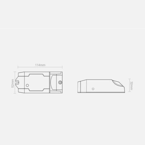 Sonoff DUAL R2 kahe kanaliga WiFi nutilüliti valge IM160811001 10