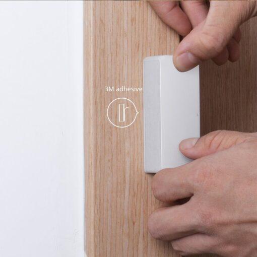 Sonoff DW2 RF juhtmevaba ukse või akna andur sensor 433 MHz RF valge M0802070003 10