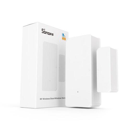Sonoff DW2 RF juhtmevaba ukse või akna andur sensor 433 MHz RF valge M0802070003 4