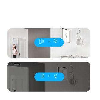 Sonoff DW2 Wi Fi juhtmevaba ukse või akna andur sensor valge M0802070002 11