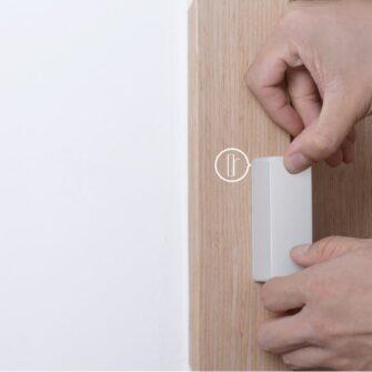 Sonoff DW2 Wi Fi juhtmevaba ukse või akna andur sensor valge M0802070002 16