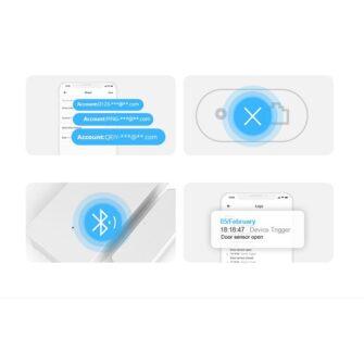 Sonoff DW2 Wi Fi juhtmevaba ukse või akna andur sensor valge M0802070002 8