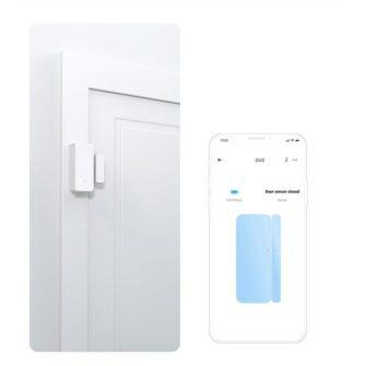 Sonoff DW2 Wi Fi juhtmevaba ukse või akna andur sensor valge M0802070002 9