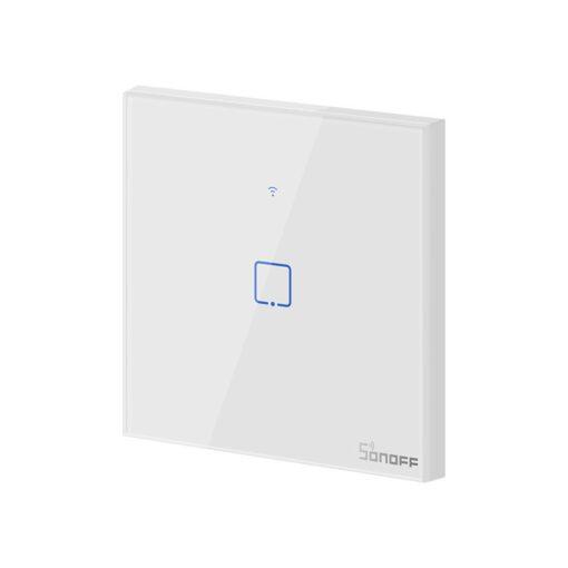 Sonoff T0EU1C TX puutetundlik seinalüliti WiFiga juhtmevaba valge IM190314009 1