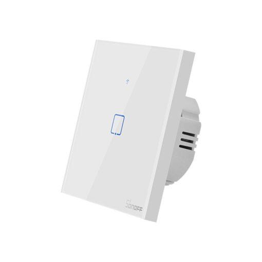 Sonoff T0EU1C TX puutetundlik seinalüliti WiFiga juhtmevaba valge IM190314009 2