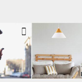 Sonoff T0EU1C TX puutetundlik seinalüliti WiFiga juhtmevaba valge IM190314009 5