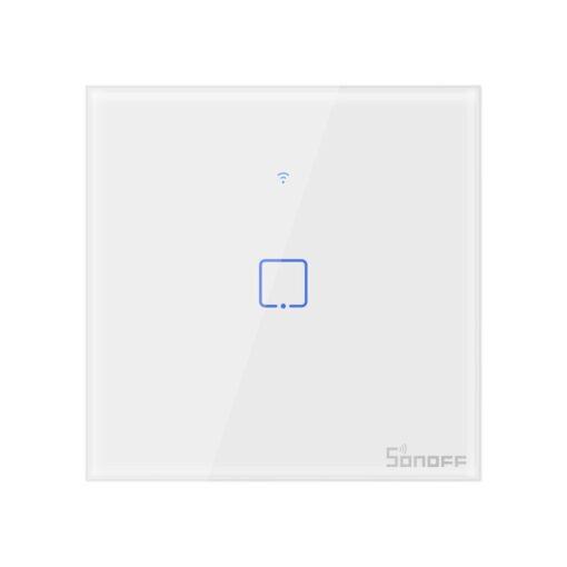 Sonoff T0EU1C TX puutetundlik seinalüliti WiFiga juhtmevaba valge IM190314009
