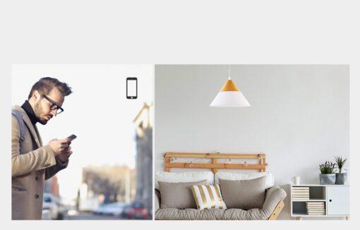 Sonoff T0EU2C TX kahe kanaliga puutetundlik seinalüliti WiFiga juhtmevaba valge IM190314010 5