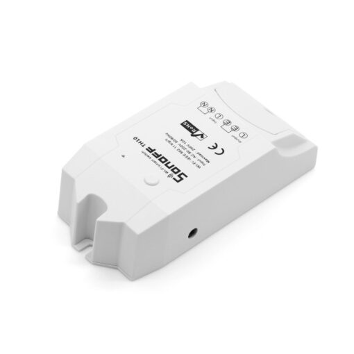 Sonoff TH16 WiFiga tark lüliti temperatuuri ja õhuniiskuse anduriga valge IM160712002 1
