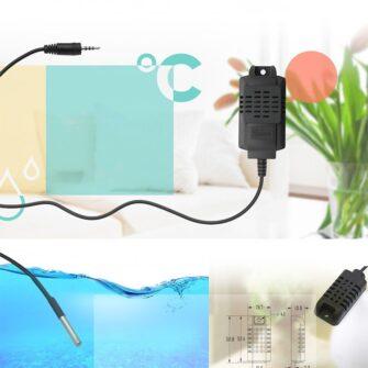 Sonoff TH16 WiFiga tark lüliti temperatuuri ja õhuniiskuse anduriga valge IM160712002 12
