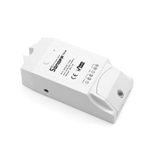 Sonoff TH16 WiFiga tark lüliti temperatuuri ja õhuniiskuse anduriga valge IM160712002 2