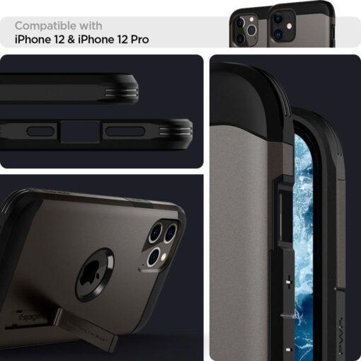 Spigen Tough Armor ümbris iPhone 12 ja iPhone 12 Pro hall 8