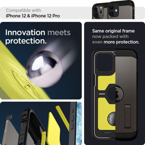 Spigen Tough Armor ümbris iPhone 12 ja iPhone 12 Pro hall 9
