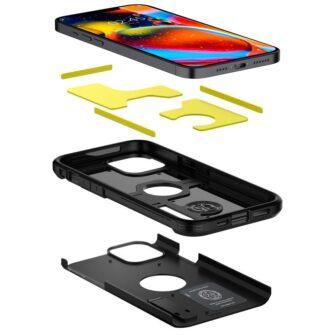 Spigen Tough Armor ümbris iPhone 12 ja iPhone 12 Pro must 2