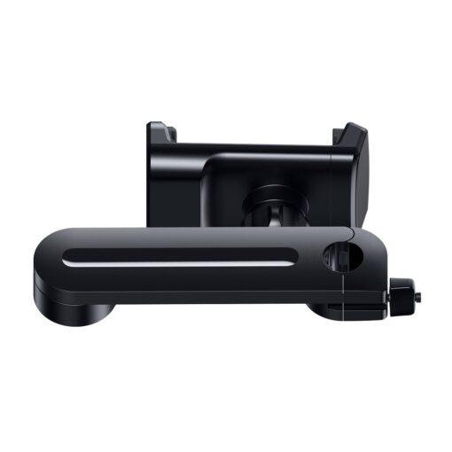Telefonihoidik auto peatugedele juhtmevaba laadimisega 15W Qi must WXHZ 01 1