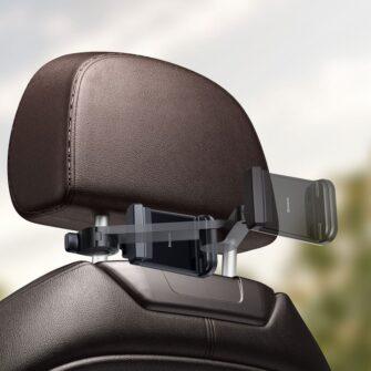 Telefonihoidik auto peatugedele juhtmevaba laadimisega 15W Qi must WXHZ 01 10