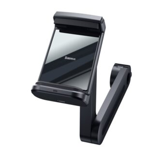 Telefonihoidik auto peatugedele juhtmevaba laadimisega 15W Qi must WXHZ 01 3