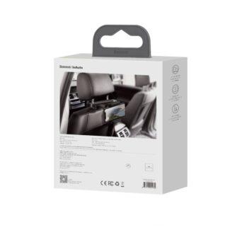 Telefonihoidik auto peatugedele juhtmevaba laadimisega 15W Qi must WXHZ 01 5