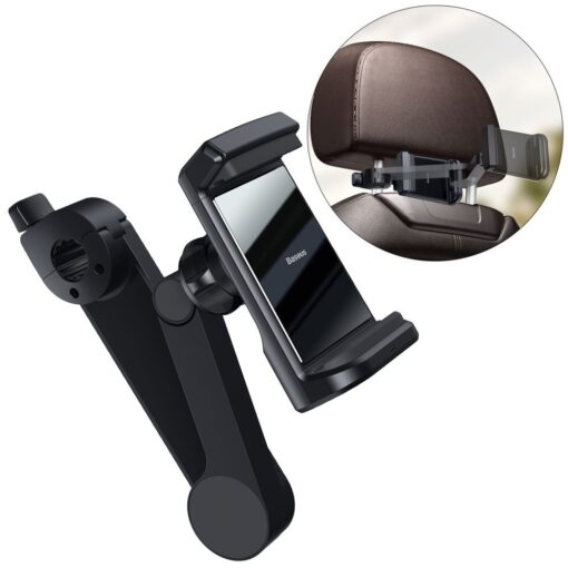 Telefonihoidik auto peatugedele juhtmevaba laadimisega 15W Qi must WXHZ 01