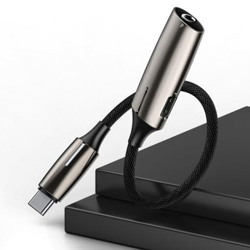 USB C adapter 3.5mm USB C adapter Baseus Audio Converter L60 Adapter must CATL60 0A