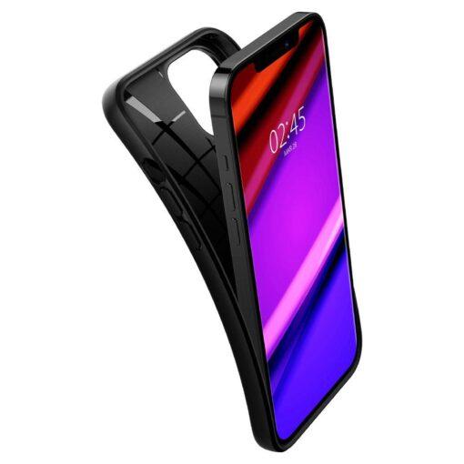 iPhone 12 12 Pro ümbris Spigen Core Armor silikoonist must 6