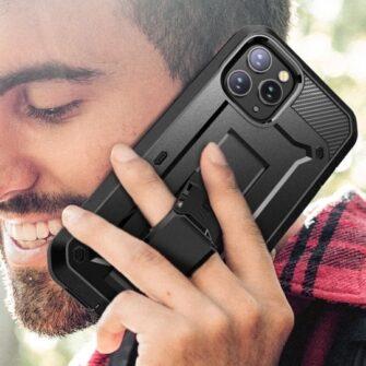 iPhone 12 12 Pro ümbris Supcase Unicorn Beetle Pro silikoonist must 7