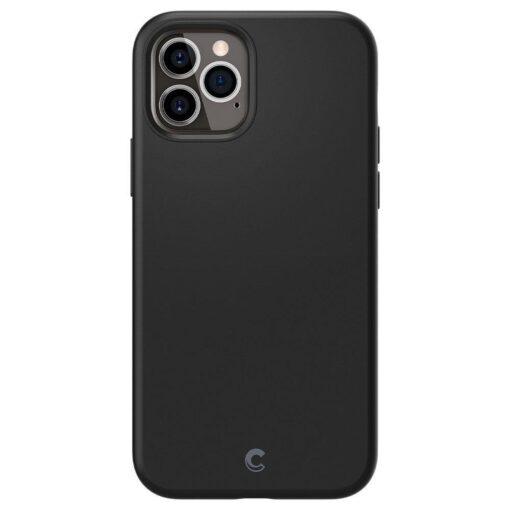 iPhone 12 12 Pro Spigen Cyrill ümbris silikoonist must