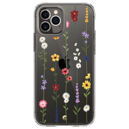 iPhone 12 12 Pro Spigen Cyrill Cecile ümbris silikoonist Flower Garden 2