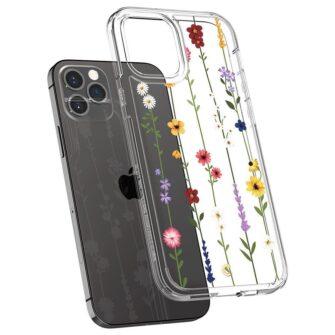 iPhone 12 12 Pro Spigen Cyrill Cecile ümbris silikoonist Flower Garden 3