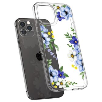 iPhone 12 12 Pro Spigen Cyrill Cecile ümbris silikoonist Midnight Bloom 4