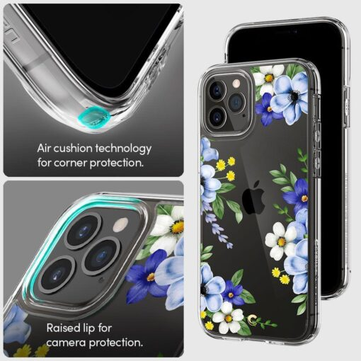 iPhone 12 12 Pro Spigen Cyrill Cecile ümbris silikoonist Midnight Bloom 7