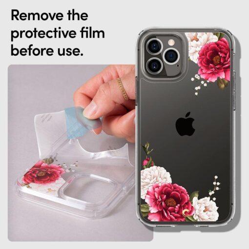 iPhone 12 12 Pro Spigen Cyrill Cecile ümbris silikoonist Red Floral 8