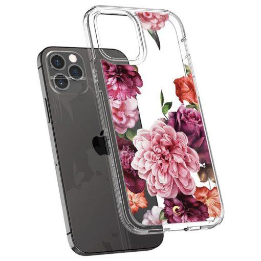 iPhone 12 12 Pro Spigen Cyrill Cecile ümbris silikoonist Rose Floral 4