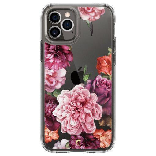 iPhone 12 12 Pro Spigen Cyrill Cecile ümbris silikoonist Rose Floral