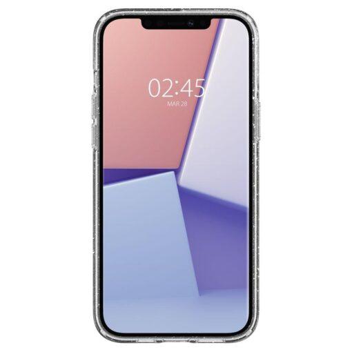 iPhone 12 12 Pro Spigen Liquid Crystal ümbris silikoonist sädelev 1