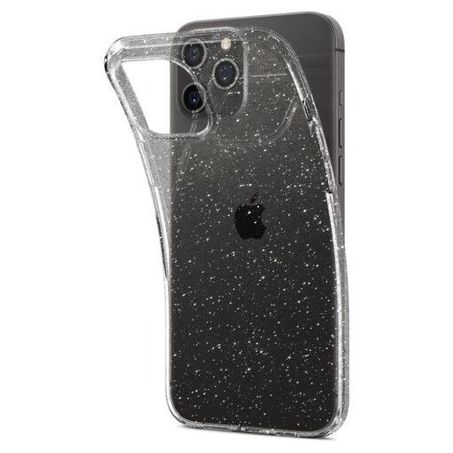 iPhone 12 12 Pro Spigen Liquid Crystal ümbris silikoonist sädelev 3