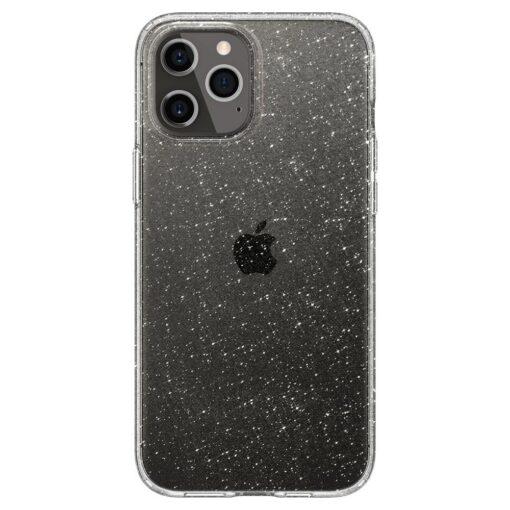 iPhone 12 12 Pro Spigen Liquid Crystal ümbris silikoonist sädelev