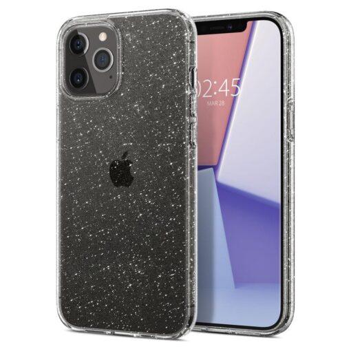 iPhone 12 12 Pro Spigen Liquid Crystal ümbris silikoonist sädelev 6