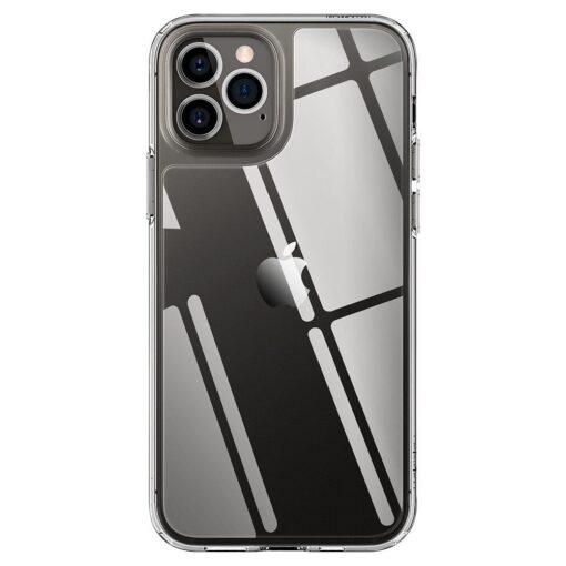iPhone 12 12 Pro Spigen Quartz Hybrid ümbris silikoonist crystal clear