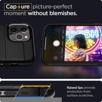 iPhone 12 12 Pro Spigen Slim Armor Cs kaarditaskuga ümbris silikoonist ja plastikust 2