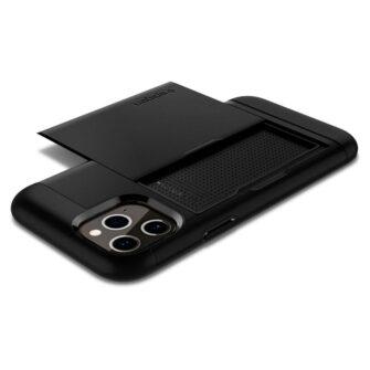 iPhone 12 12 Pro Spigen Slim Armor Cs kaarditaskuga ümbris silikoonist ja plastikust 8