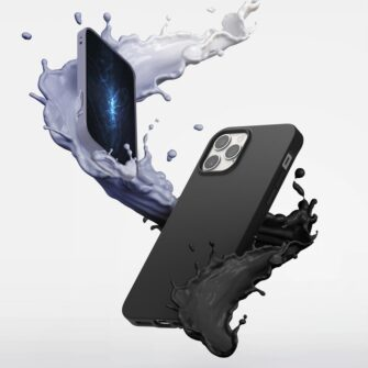 iPhone 12 12 Pro kaaned Ringke Air S Ultra Thin silikoonist must 3