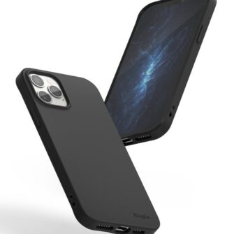 iPhone 12 12 Pro kaaned Ringke Air S Ultra Thin silikoonist must 4