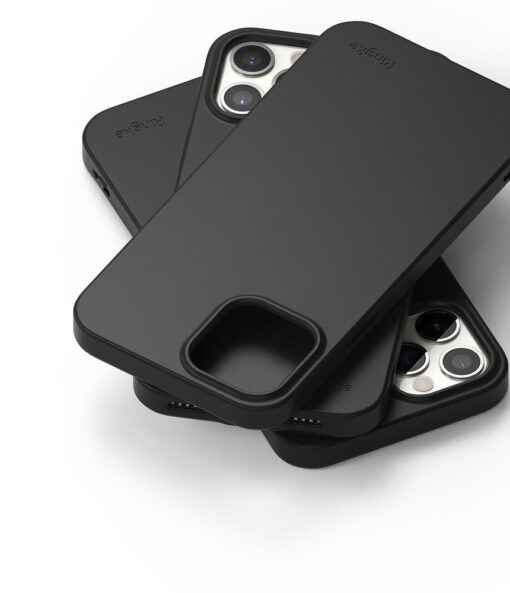 iPhone 12 12 Pro kaaned Ringke Air S Ultra Thin silikoonist must 5