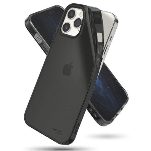 iPhone 12 12 Pro kaaned Ringke Air Ultra Thin silikoonist raamiga hall 1
